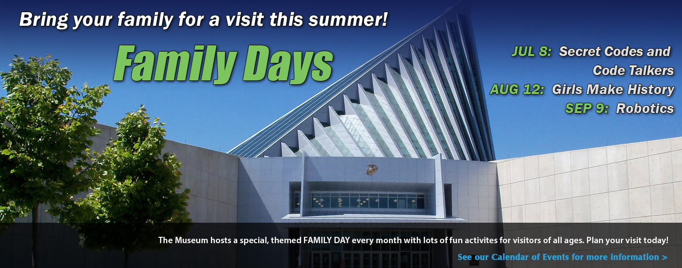Family Days: Bring your family to visit!