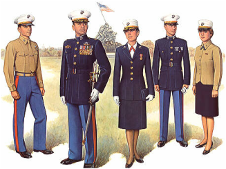 Dating a marine corps officer dress