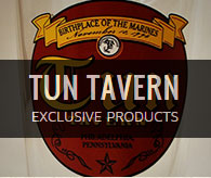 Shop Exclusive Tun Tavern Products