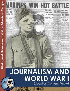 Journalism and WWI Packet Photo