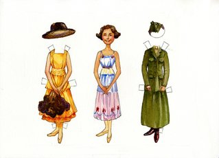 Opha M. Johnson Paper Doll Cutouts