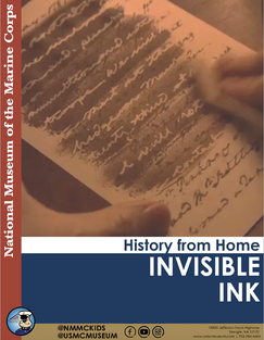 NMMC Invisible Ink Craft Text
