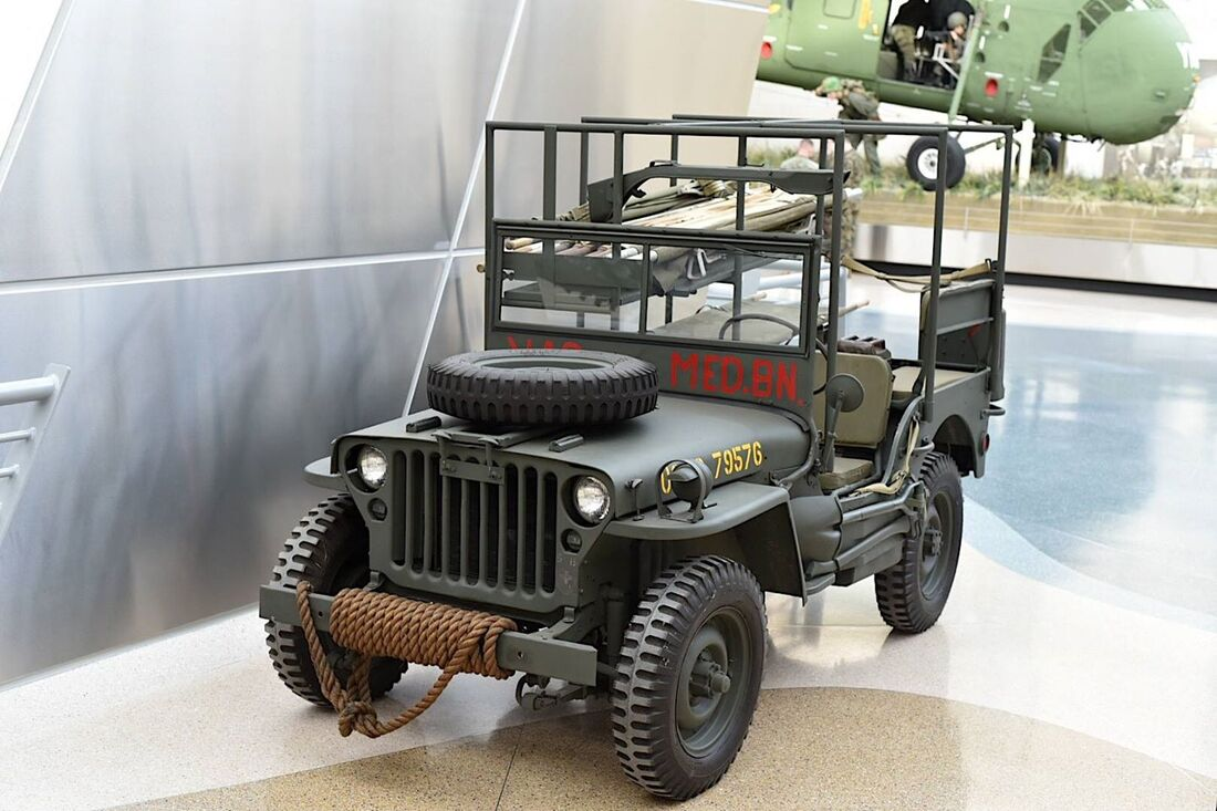 NMMC WWII Jeep Ambulance